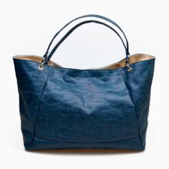 bolso ecologico azul