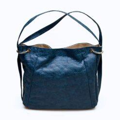 bolso mochila ecofriendly azul ecologico