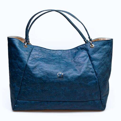 bolso shopping ecologico azul