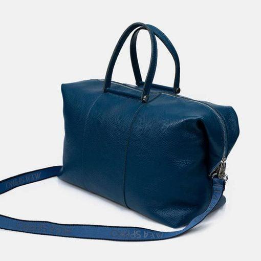 bolso-azul-grande-cremallera-bandolera-piel-hecho-en-espana