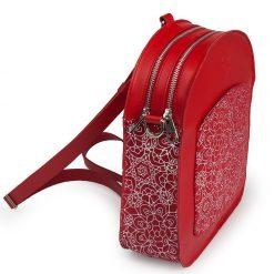bolso-mochila-eyre-rojo-piel-estampada