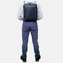 azul-marino-piel-cremallera-mochila-bolso-caballero