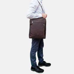 marron-bolso-caballero-mochila-cruzar-ecologico